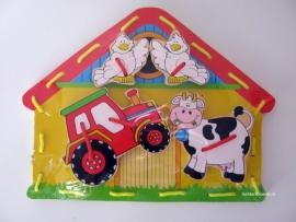 Rijgplank - Boerderij