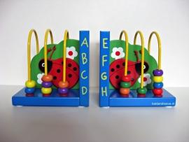 Kinder Boekensteunen - Lieveheersbeest met spiraal