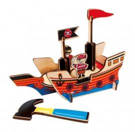 3D ~ Piratenboot