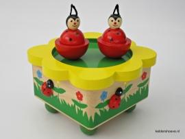 Muziekdoos ~ Dansende lieveheersbeestjes