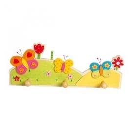Kinderkapstok ~ Vlinders