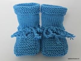 Babyslofjes - Kat. Mt 7 t/m 10 cm Blauw