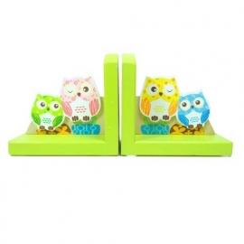 Kinder Boekensteunen ~ Uiltjes Groen