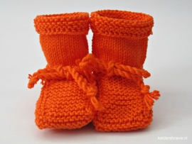 Babyslofjes - Kat. Mt 7 t/m 10 cm Oranje