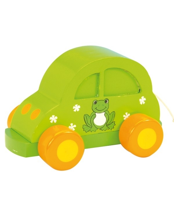 Muziekdoos groene auto