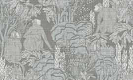 Curiosa - Langur 13531 - Arte Wallpaper