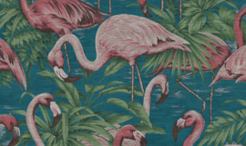Curiosa - Flamingo 31541 - Arte Wallpaper
