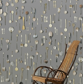 Arte Wallpaper Obsession Wallpaper DRO-06 Spoons Small