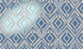 47520 Geo (met metalic foil) - Revera - Arte Wallpaper
