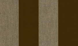 Stripe Velvet and Lin 18113 - Flamant by Arte Wallpaper