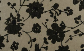 18001 Metal Velvet Flower and Lin - Flamant by ARTE wallpaper