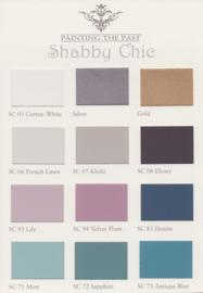 SHABBY CHIC kleurkaart