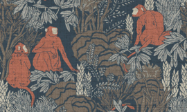 Curiosa - Langur 13532 - Arte Wallpaper