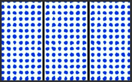 PNO-02 Blue Dots Addiction Arte Wallpaper