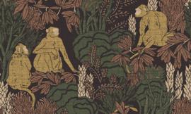 Curiosa - Langur 13530 - Arte Wallpaper
