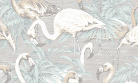 Curiosa - Flamingo 31542 - Arte Wallpaper