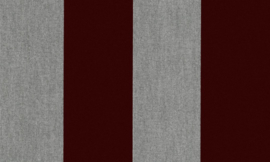 Stripe Velvet and Lin 18116 - Flamant by Arte Wallpaper