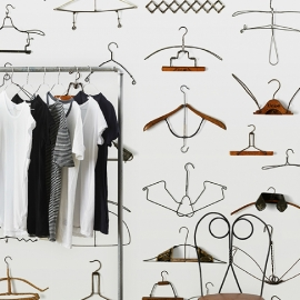 Arte Wallpaper Obsession Wallpaper DRO-02 Hangers