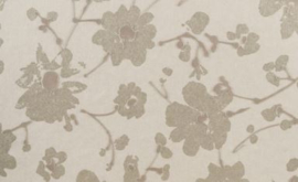 18010 Metal Velvet Flower and Lin - Flamant by ARTE wallpaper