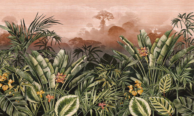 Silk Road Garden 72001 - Arte Wallpaper