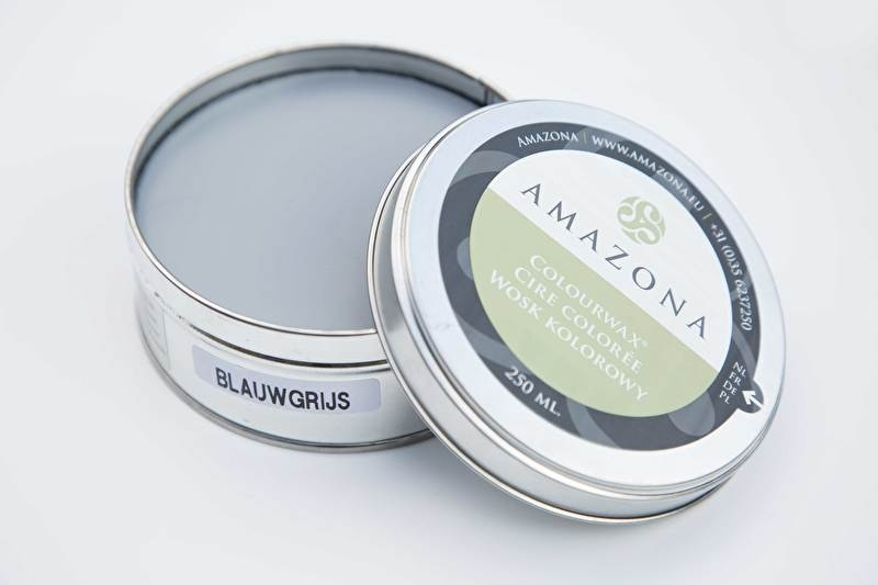 Colourwax Blauw Grijs -  Amazona 250 ml