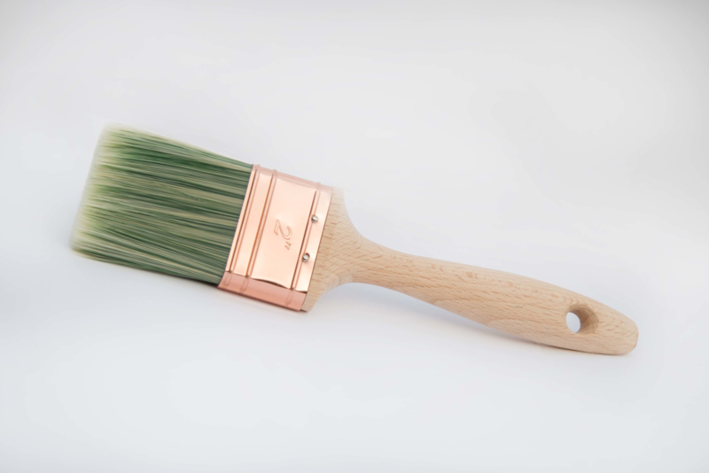 Kwast plat 5 cm / 2 inch Amazona