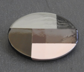 Stephisimo - Handgemaakte Grote Broche - Jolanda ( B-ST-1901)