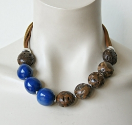 Nature Bijoux Ketting Indigo (KK-NB-66)