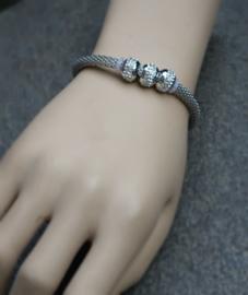 Sweet7 Fonkelende Pandora-Stijl Armbandje Pepita (A-S7-1603)
