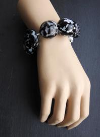 Gloria-Maris Armband met Kukui kralen - Renate Zwart ( A-GM-2004)