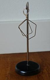 Stephisimo Schakel Oorbellen - Charm Zilver ( O-ST-1801)