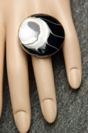Grote bijou ring Mia (OR-RI-02)
