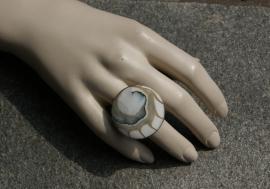 Grote bijou ring Alene (OR-RI-03)