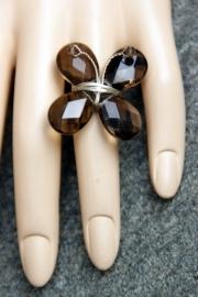 Taolei vlinder ring Demi-zilver  (TA-RI-05)