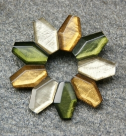 Culture Mix Broche Sofie - groen (B-CM-18)
