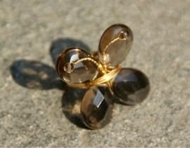 Taolei vlinder ring Demi-goud (TA-RI-06)