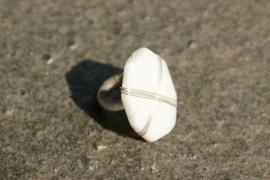 Taolei grote ring Suzan-zilver (TA-RI-09)