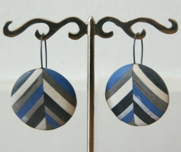 Culture Mix Oorbellen Gabby - Blauw (O-CM-1501)