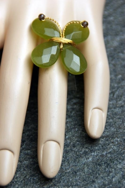 Taolei vlinder ring Cassina-goud (TA-RI-04)