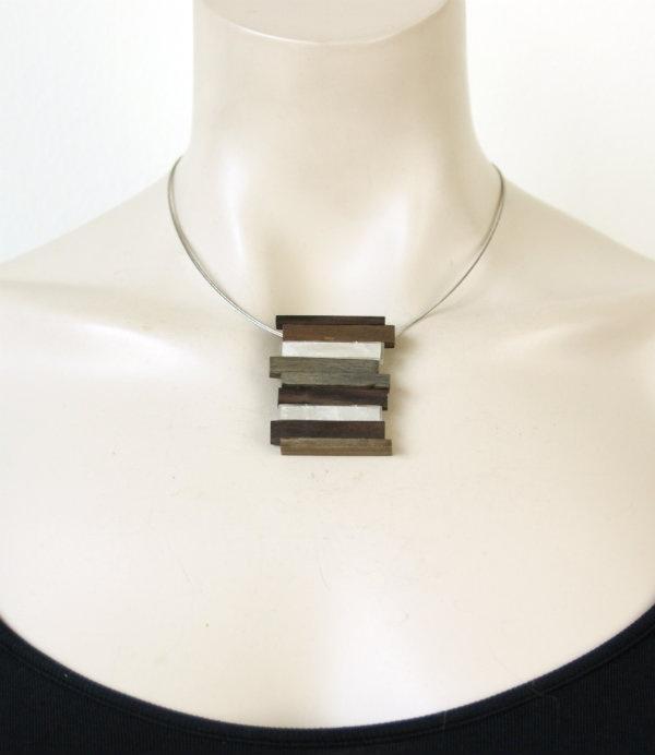 Culture Mix ketting met hanger Sylvia (KK-CM-418)