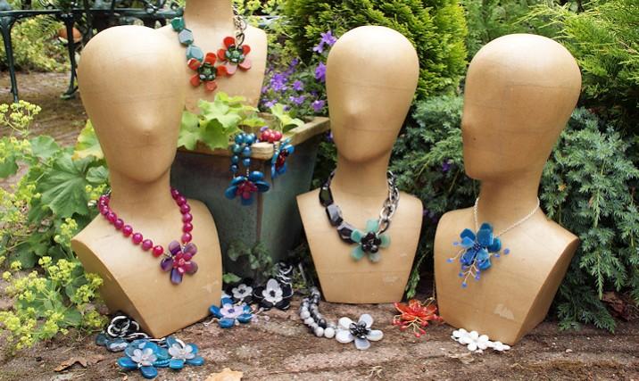 Klik hier voor prachtige Bloem sieraden