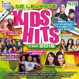 Various - De Leukste Kids Hits van 2016 (2CD)