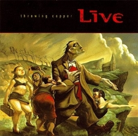 Live - Throwing Copper (1CD)