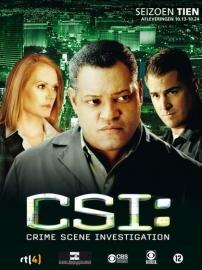 Tv Serie - CSI Las Vegas Seizoen 10 deel 2 (3DVD)
