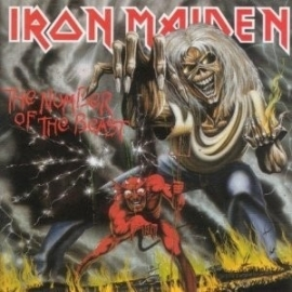Iron Maiden - Number Of The Beast  (1CD)