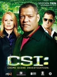 Tv Serie - CSI Las Vegas Seizoen 10 deel 1  (3DVD)