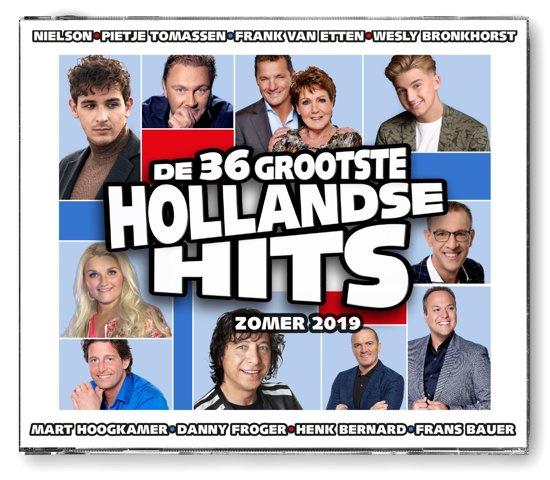 Various - De 36 Grootste Hollandse Hits Zomer 2019 (2CD)