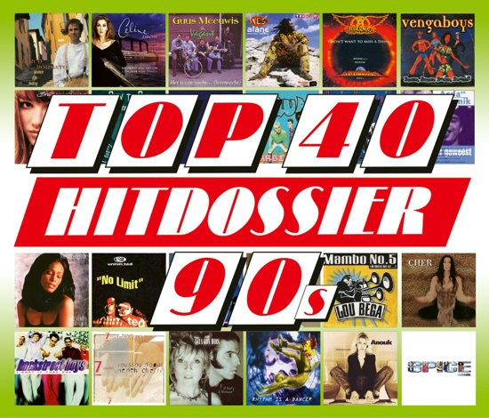 Various - Top 40 Hitdossier  90's (5CD)