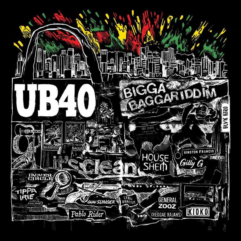 UB40 - Bigga Baggariddim (1CD)