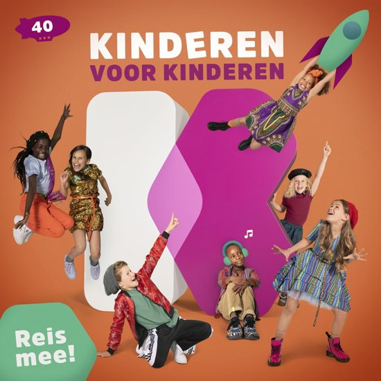 Kinderen voor Kinderen 40 - Reis Mee! (1CD)